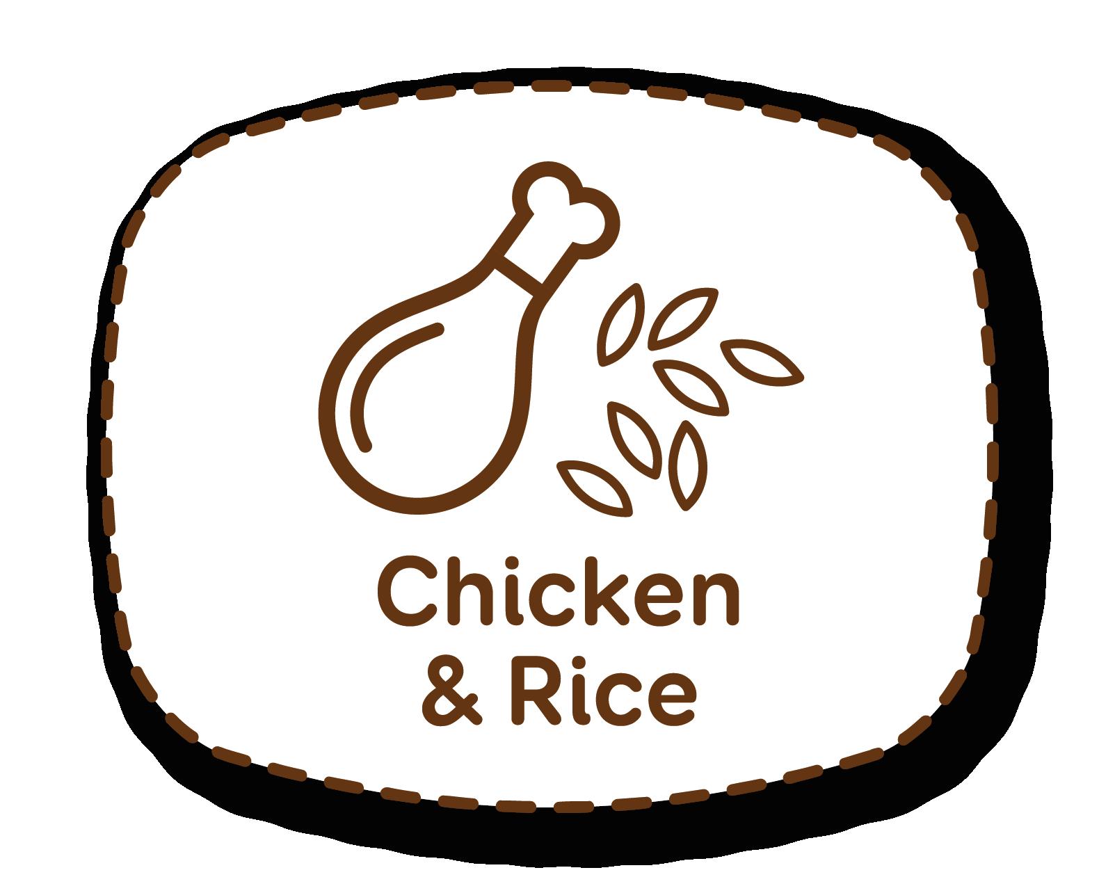 Galinha e arroz: nutrientes equilibrados para a manutenção de cães adultos