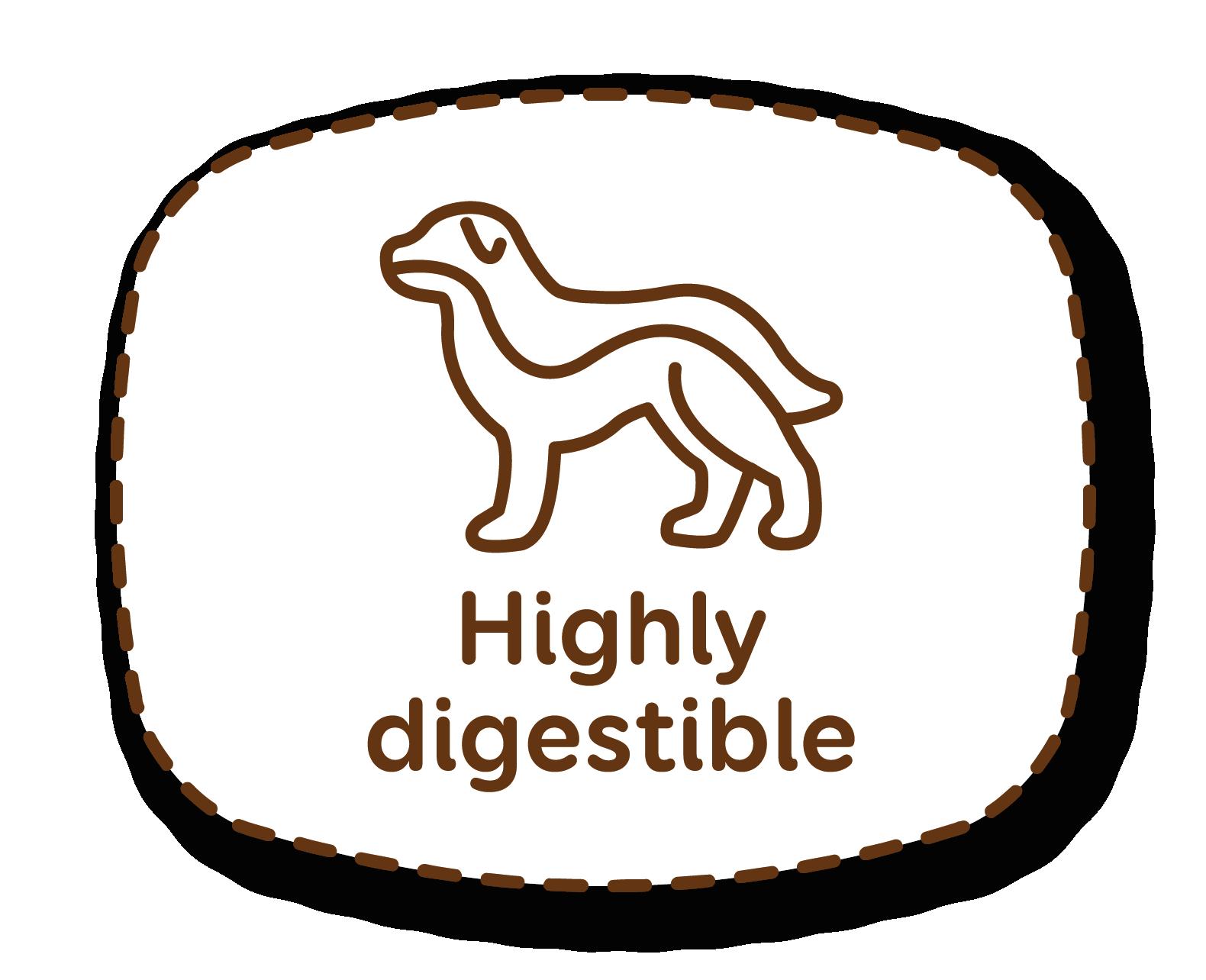 Elevada digestibilidade