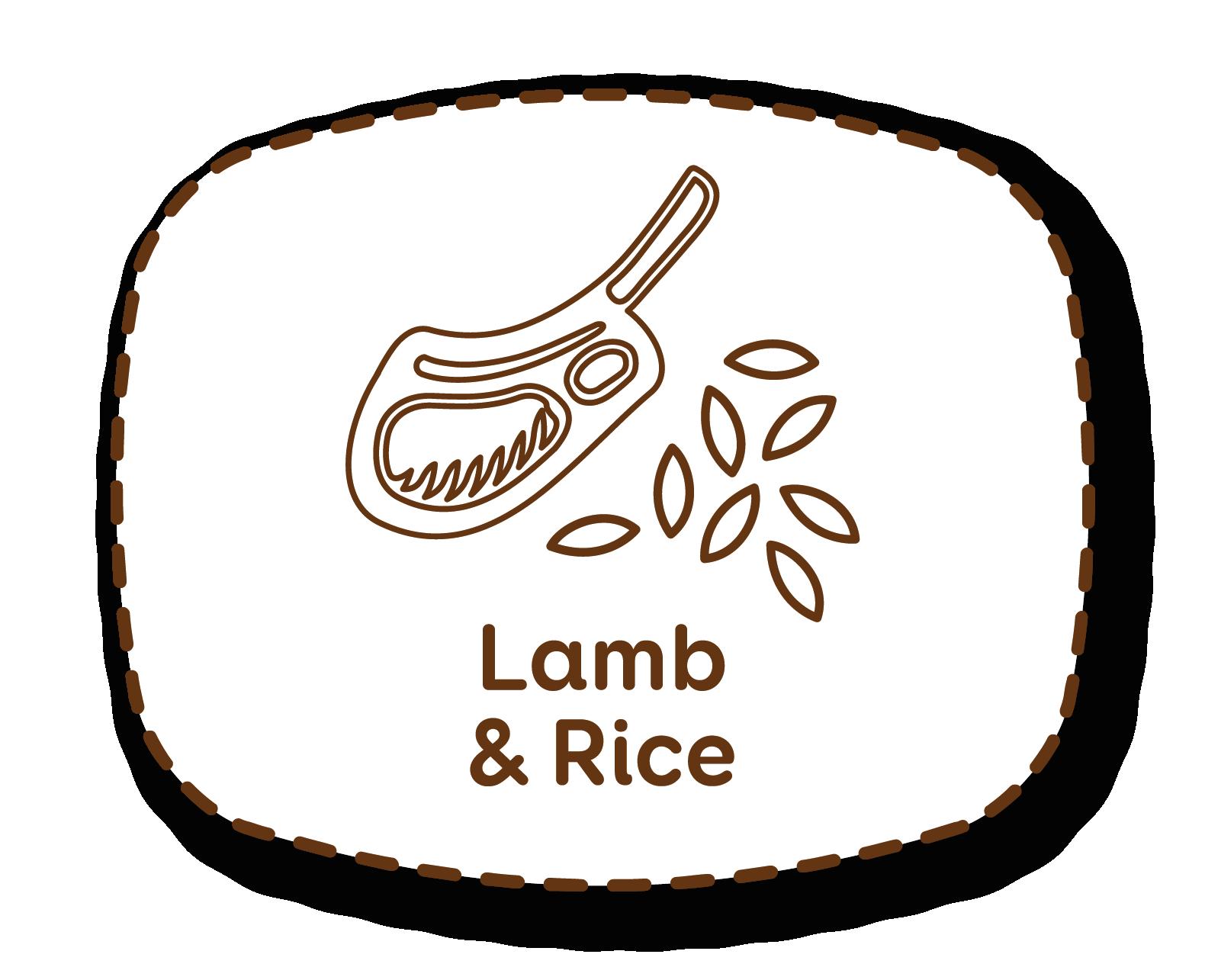 Borrego e arroz: para uma dieta equilibrada e altamente palatável